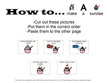 """""""How to..."""" Picture Sequencing"""