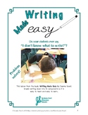 Easy to Teach: Plan, State, Support Opinion About Characte