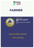 How to Plant Seeds - farm activity for preschool!