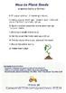 How to Plant Seeds - farm activity for preschool!