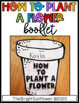 How to Plant a Flower Booklet