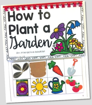 How to Plant a Garden Interactive Book and Barrier Game