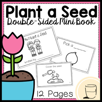 How to Plant a Seed (Double-sided) - Mini Book - Free