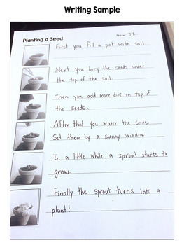 How to Plant a Seed Procedural Writing