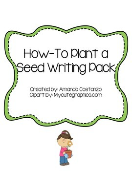 How to Plant a Seed Writing Pack