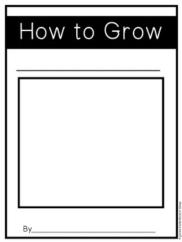 How to Plant a Seed (procedural writing)