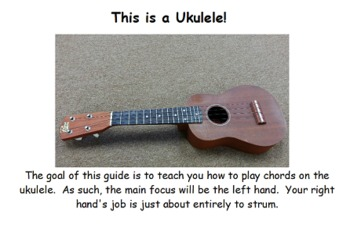 How to Play Chords on the Ukulele Powerpoint