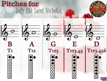 "How to Play ""Jolly Old St. Nicholas"" on Recorder - Elementary Music Christmas"