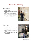 How to Play Pictionary-Directions Visual