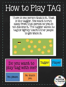 How to Play Tag Social Story