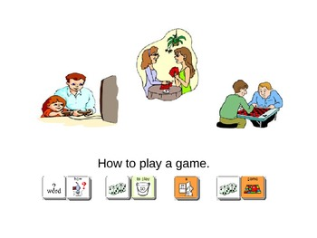 How to Play a Game Social Story