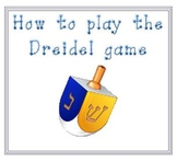 How to Play the Dreidel Game