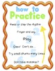 How to Practice Poster