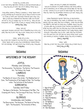 picture relating to How to Pray the Rosary Printable referred to as How towards Pray the Rosary
