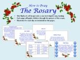 How to Pray the Rosary mini flipbook