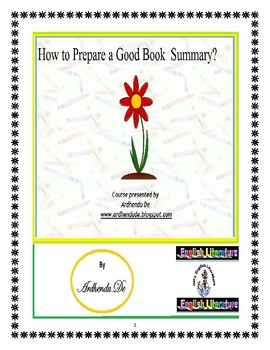 How to Prepare a Good Book Summary?