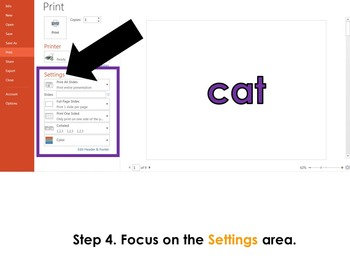 How to Print Flashcards in PowerPoint