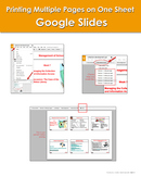 How to Print Multiple Pages on One Sheet: Google Slides