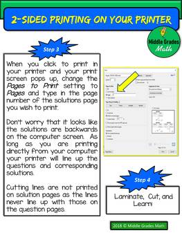 How to Print or Copy 2-Sided Task Cards