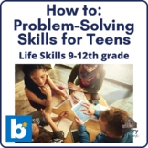 How to: Problem-Solving Skills Boom Cards for Grades 9-12,