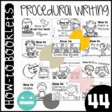 How-to/ Procedural Writing Mini Books