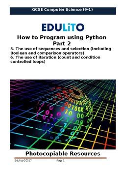 How to Program using Python Part 2