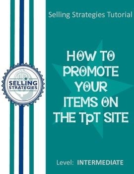 How to Promote Your Items on the TpT Site