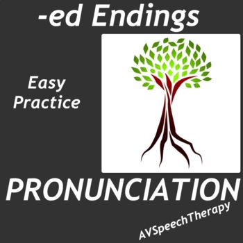 -ed Endings Easy Practice Pack