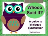 Quotation Punctuation Mini-Unit