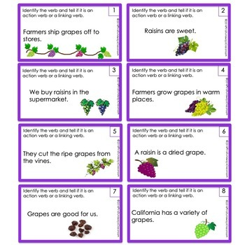 How Do You Raise a Raisin? (action and linking verbs)