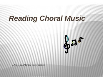 How to Read Choral Music (for beginners to keep up with the choir!)