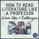 How to Read Literature Like a Professor Bell-Ringers