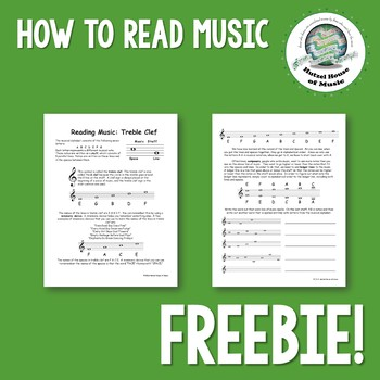 How to Read Music Handout