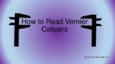 How to Read Vernier Calipers Notes