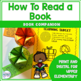 How to Read a Book | Book Companion | Digital and Printable