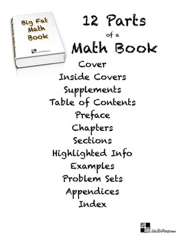 Getting the Most from Your Math Book - Discussion Questions & Mini-Poster