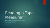 How to Read a Tape Measurer