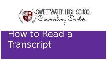 How to Read an Infinite Campus Transcript