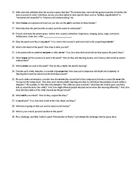 How to Read and Explicate a Poem: Common Core Crafted