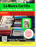 How to Read in Spanish! La Nueva Cartilla  PowerPoint Audio L-2 lessons 6-10