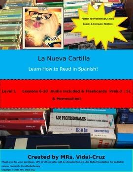How to Read in Spanish! La Nueva Cartilla PowerPoint w/Aud