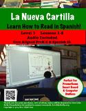How to Read in Spanish! La Nueva Cartilla  PowerPoint w/au