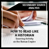 """How to """"Read like a Historian"""": An Introduction to the Rom"""