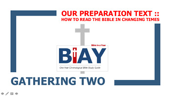 How to Read the Bible in Changing Times Chapter 3