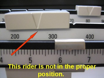 How to Read the Triple Beam Balance