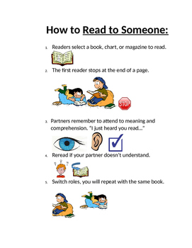 How to Read to Someone