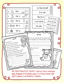 HOW TO READ WITH FLUENCY Vol 3 { NO PREP  Passages, Activities and PRINTABLES }