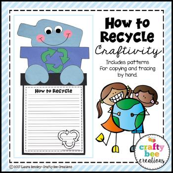 How to Recycle Craftivity