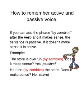 How to Remember Active and Passive Voice