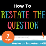 How to Restate the Question